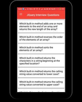 Interview Questions for JQuery screenshot 8
