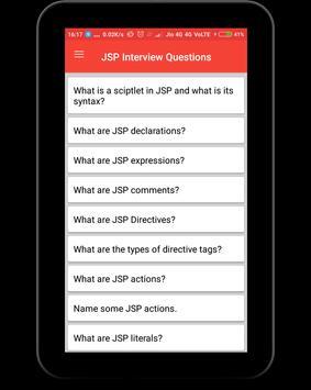 Interview Questions for JSP screenshot 8