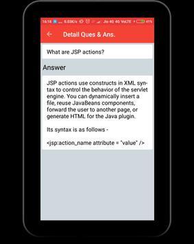Interview Questions for JSP screenshot 10