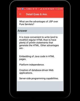 Interview Questions for JSP screenshot 11