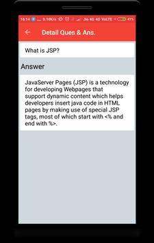 Interview Questions for JSP screenshot 2