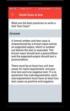 JUnit Interview Questions screenshot 3