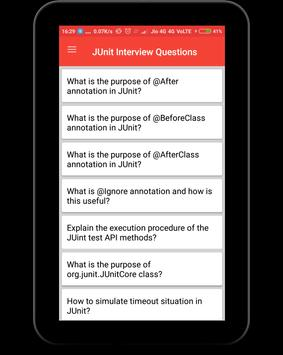 JUnit Interview Questions screenshot 8