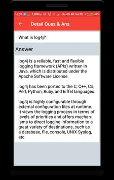 Log4j Interview Questions screenshot 2
