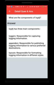 Log4j Interview Questions screenshot 3