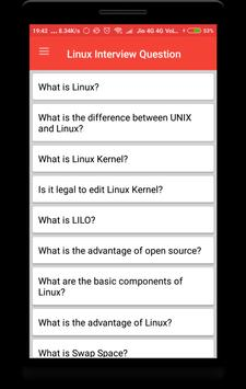 Linux Interview Questions poster
