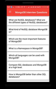 MongoDB Interview Questions poster