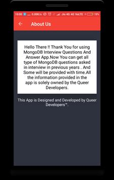 MongoDB Interview Questions screenshot 7