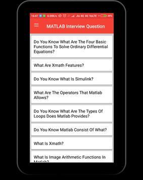 Matlab Interview Question screenshot 8