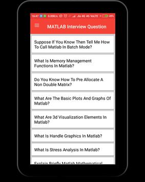 Matlab Interview Question screenshot 9