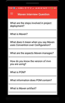 Interview Questions for Maven poster
