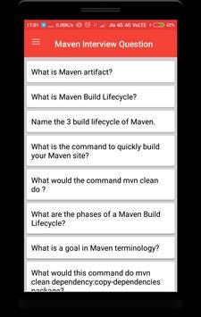 Interview Questions for Maven screenshot 1