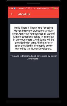 Interview Questions for Maven screenshot 7