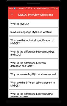 MySQL Interview Questions poster