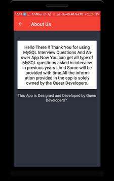 MySQL Interview Questions screenshot 7