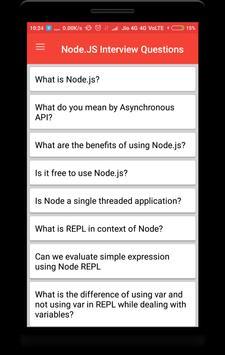 Node.js Interview Questions poster