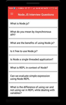 Node.js Interview Questions poster