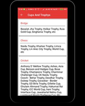 Sports Terms and Trophy apk screenshot