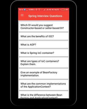 Spring Interview Questions screenshot 8