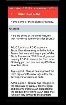 Struts Interview Questions screenshot 3