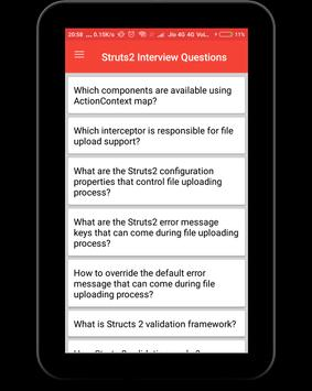 Struts Interview Questions screenshot 9