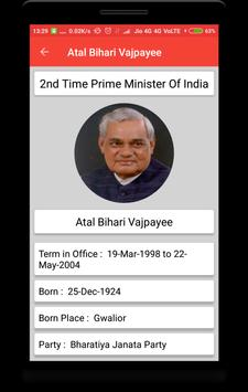Prime Ministers of India screenshot 5