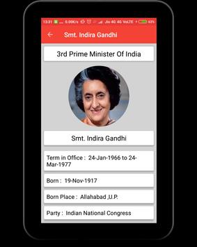 Prime Ministers of India screenshot 9