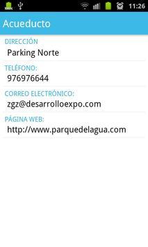 Parque del Agua apk screenshot