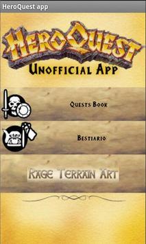 HeroQuest, un-official app Poster