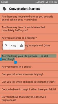 Questions for WhatsApp screenshot 1