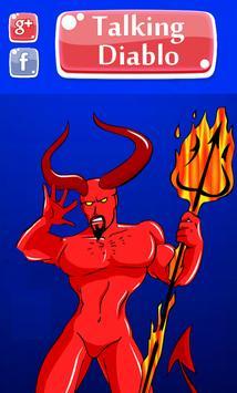 Talking Diablo - Scary poster