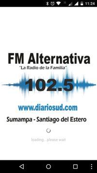 Fm Alternativa 102.5 poster