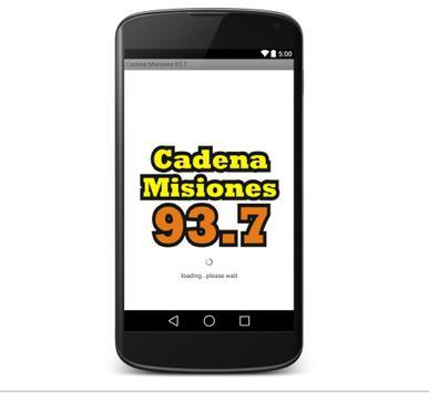 Cadena Misiones 93.7 poster