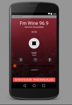 Fm Wine 96.9 poster