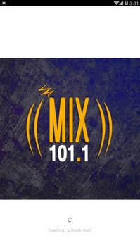 Mix Radio 101.1 poster