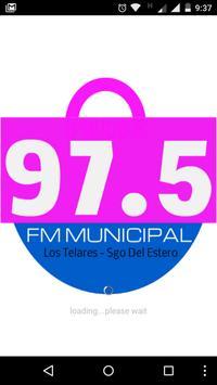 Fm Municipal 97.5 Los Telares poster