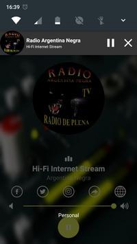 Radio Argentina Negra Online screenshot 1