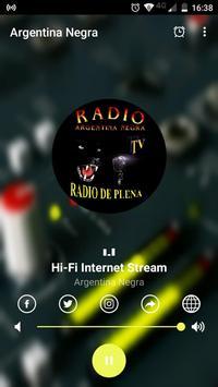 Radio Argentina Negra Online screenshot 2