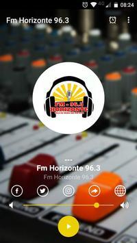 Radio Fm Horizonte 96.3 海報