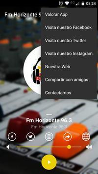 Radio Fm Horizonte 96.3 截圖 1