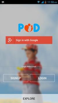 POD Parenting On Demand poster