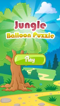 Jungle Balloon Puzzle poster