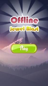 Offline Jewel Blast poster