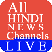 Hindi Live News Channels & Papers icon