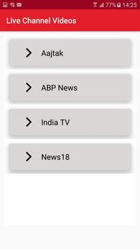 Hindi Live News Channels & Papers screenshot 3