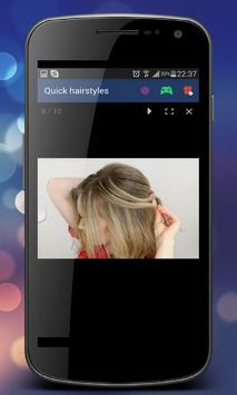 Hairstyles step by step apk screenshot