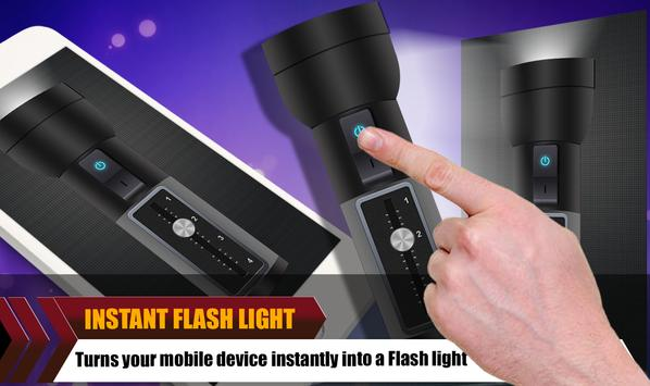 Rechargeable Flashlight Free screenshot 3