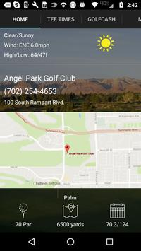 Angel Park Golf Club Tee Times apk screenshot