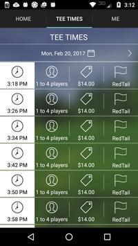 RedTail Golf Center Tee Times screenshot 2