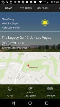 The Legacy Golf Club Tee Times apk screenshot
